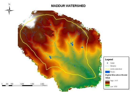 Figure 9. Hydrology of the Maddur watershed